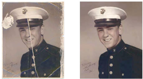 Photo Restoration Spectracolor Signs Tshirts Photos