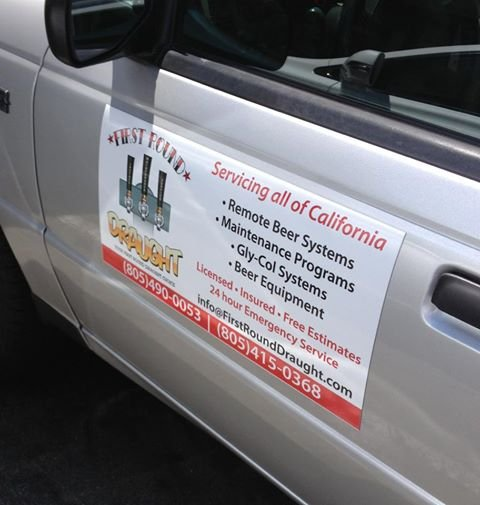 Full Color Custom Car Magnets Spectracolor In Simi Valley CA - Custom car magnets large