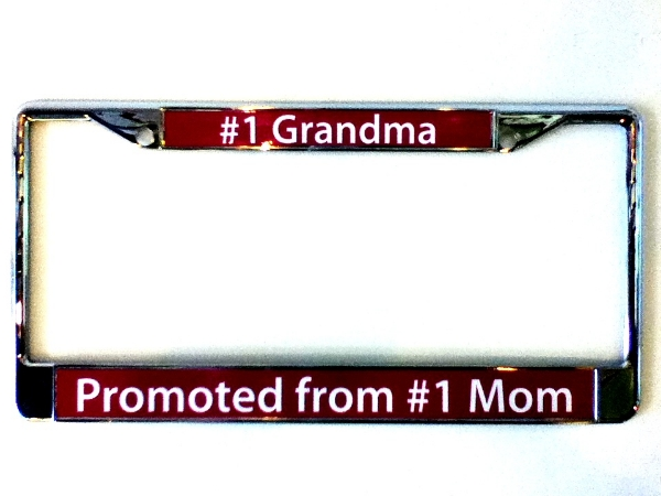 Custom Personalized License Plate Frames At Spectracolor
