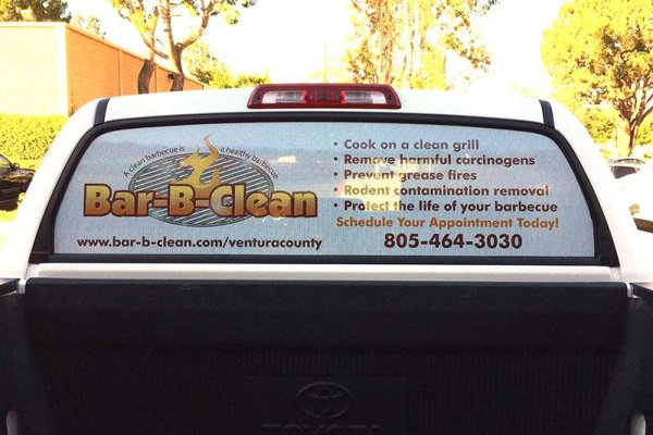 Perforated see through window graphics simi valley