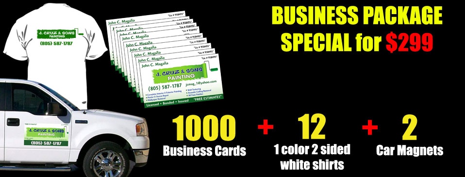 small-business-special-business-cards-car-magnets-screen-printed-shirts