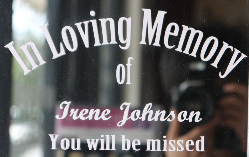 Custom In Loving Memory Stickers Decals for Car Window ...