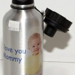 We can make personalized custom water bottels with photo or company logo here at Spectracolor in Simi Valley, CA