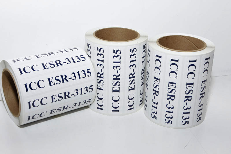 custom Roll labels printed at Spectracolor in simi valley, ca