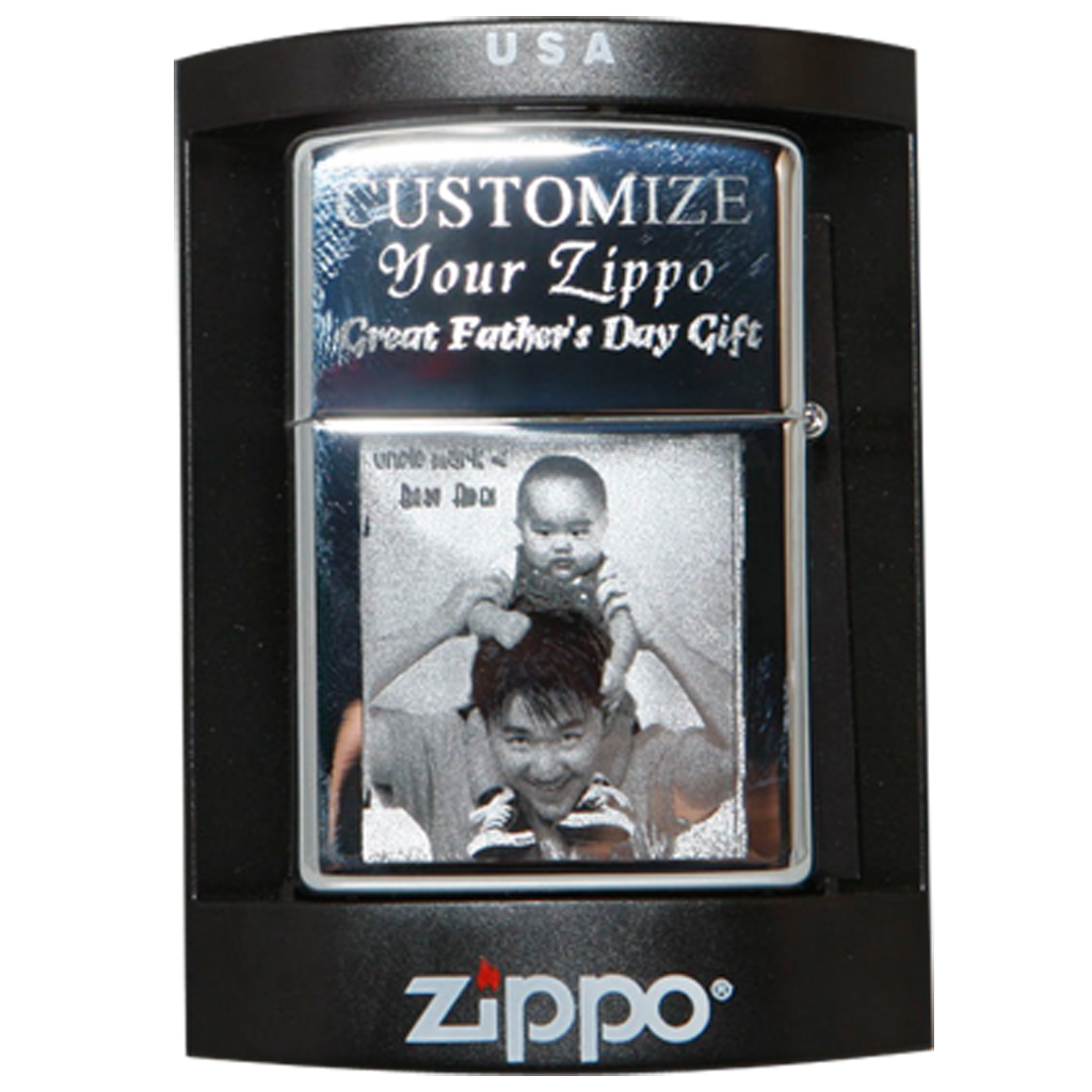Photo Engraved Zippo Lighter Personalized Spectracoloronlinecom
