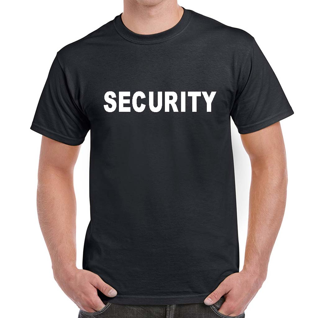 Security T-Shirts | Custom Security Uniform | 100% Cotton Preshrunk