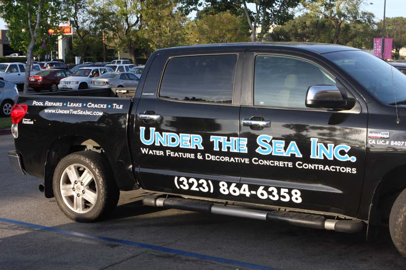 Vehicle wrap and decals by spectracolor sign shop in simi valley ca